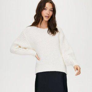Aritzia Wilfred Limerick Raglan Boatneck Sweater